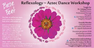 Bare Feet - Reflexology & Aztec Dance! @ Mosaic Health & Healing Arts | Goshen | Indiana | United States